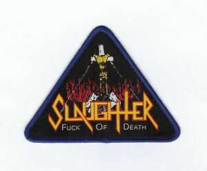 Slaughter-034-F-ck-Of-Death-034-Patch-morbid-saint-cryptic-bathory-sepultura-venom-sod
