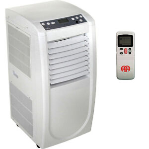 Slim Compact Portable Air Conditioner Room AC Dehumidifier