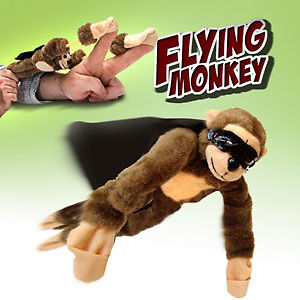 Slingshot Flying Screaming Monkey - Flys 50 Feet Scream in Toys & Hobbies, Stuffed Animals, Other | eBay