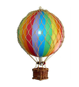 Small model hot air balloon rainbow mobile ebay for How to make a small air balloon