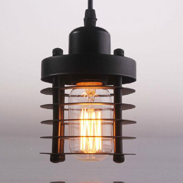 Small Vintage Style Industrial Pendant Lamp Single Head