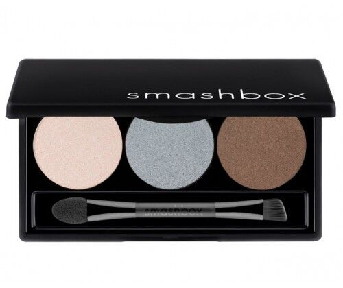 Smashbox STROBE Eye Lights Trio Eyeshadow Palette Pearl/Blue/Brown $34 Boxed New in Health & Beauty, Makeup, Eyes | eBay