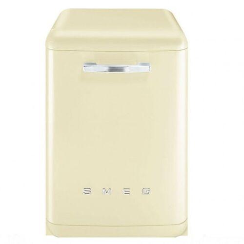 smeg df6fabp2 retro 50 39 s style cream freestanding dishwasher df6fab ebay. Black Bedroom Furniture Sets. Home Design Ideas