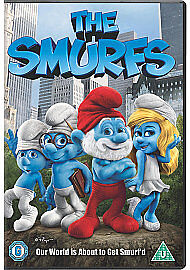 The Smurfs (DVD, 2011)