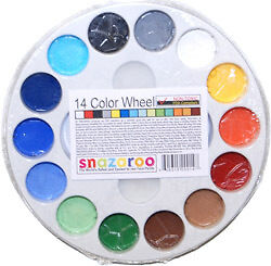 Snazaroo 14 Color Wheel FACE PAINT PAINTING PALETTE-Kid in Crafts, Kids' Crafts, Other | eBay