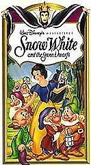 Snow White and the Seven Dwarfs (VHS, 19...