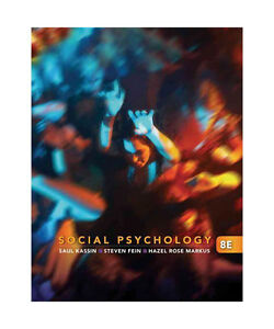 social psychology by hazel rose markus, stev