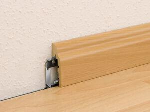 sockelleiste stl nt 2065 buche hell er elektroinstallation kabelkanal leiste ebay. Black Bedroom Furniture Sets. Home Design Ideas