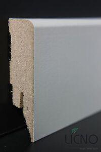 sockelleiste sockelleisten 60mm weiss f r laminat parkett teppichboden licno b60 ebay. Black Bedroom Furniture Sets. Home Design Ideas