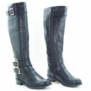 Brilliant  Equestrian Black Leather Horse Riding Boots  English Riding Women39s