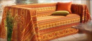sofa berwurf bett berwurf tagesdecke toskana couch berwurf s den 160x200cm neu ebay. Black Bedroom Furniture Sets. Home Design Ideas