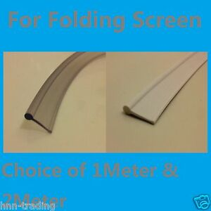 Soft Rubber Shower Seal For Fold Folding Bath Door Shower
