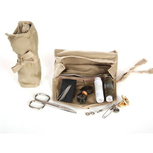 Soldaten-Naehzeug-Garn-Knoepfe-Sewing-Kit-Buttons-Sizzor-Needle-Armee-WH-WWII-WK2