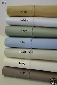 Solid Sheets1500 TC Bed Sheet Set 100% Egyptian Cotton Deep Pocket Sheets in Home & Garden, Bedding, Sheets & Pillowcases | eBay
