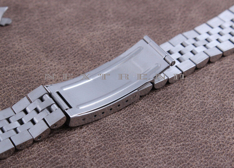solid steel bracelet replacement band for