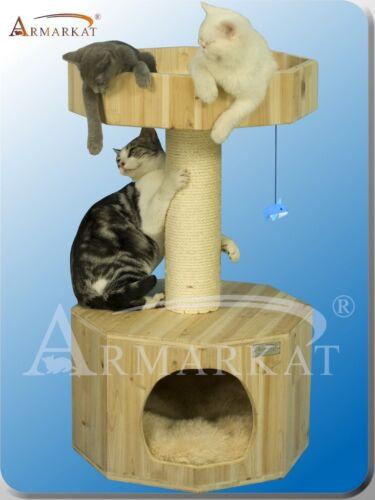 Solid Wood Armarkat Cat Tree Furniture Condo S3103 - No Carpet, Pure Wood in Pet Supplies, Cat Supplies, Furniture & Scratchers | eBay