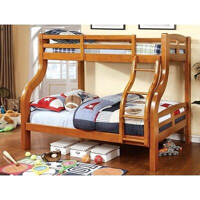 Twin over futon metal bunk bed white futon discount click for Bunk bed with full on bottom