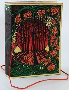 Solstice Leather Bound Book of Shadows, Journal, or Diary! Free U.S. Shipping! in Books, Accessories, Blank Diaries & Journals | eBay
