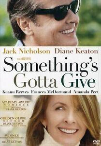 Something's Gotta Give (DVD, 2004)