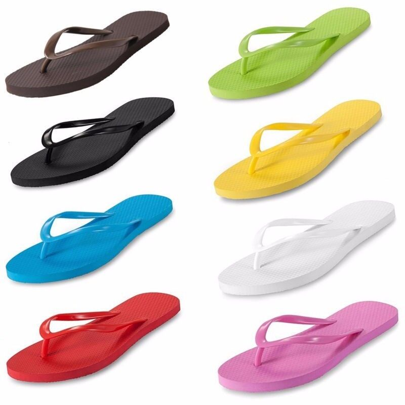 sommer beach strand sandalen damen flip flops eur35 36 37 38 39 40 schwarz weiss ebay. Black Bedroom Furniture Sets. Home Design Ideas