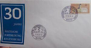 Sonderbrief-mit-SST-Regensburg-21-10-1978-30-Jahre-Arztliche-Fortbildung-Rege