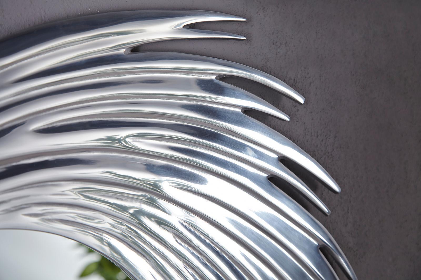 Dettagli su Sole Tondo Arrotondato Designer Specchio muro 80 cm in ...