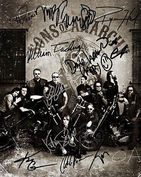 Sons of Anarchy Group Signed 8X10 Photo Rp Charlie Hunnam 12 Sigs Katey Sagal in Sports Mem, Cards & Fan Shop, Autographs-Reprints | eBay