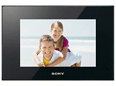 "Sony 9"" S-Frame LED Black Digital Photo Frame DPF-D95 in Cameras & Photo, Digital Photo Frames 