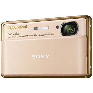 Sony Cyber-Shot DSC-TX100V 16.2 MP Digital Camera - Gold 4905524768923