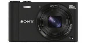 Sony Cyber-Shot DSC-WX300 18.2 MP Digita...