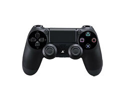 Sony DUALSHOCK 4 Jet Black Wireless Game...