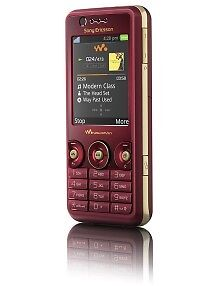 Sony Ericsson W660i Walkman - Red (3) Mo...