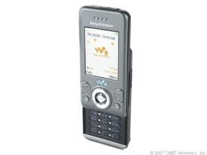 Sony Ericsson Walkman W580i - Urban grey...