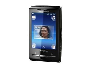 Sony Ericsson XPERIA X10 mini - Black (U...