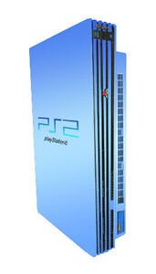 Sony PlayStation 2 Spring Bundle Aqua Bl...