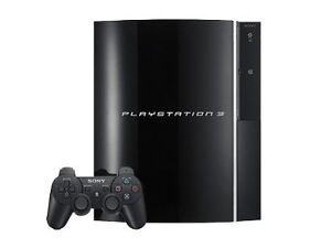 Sony PlayStation 3 80 GB Black Console (...