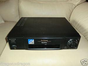 Sony-SLV-E30-VHS-Videorecorder-voll-funktionsfaehig-2-Jahre-Garantie