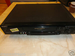 Sony-SLV-SE80-HiFi-VHS-Videorecorder-voll-funktionsfaehig-2-Jahre-Garantie