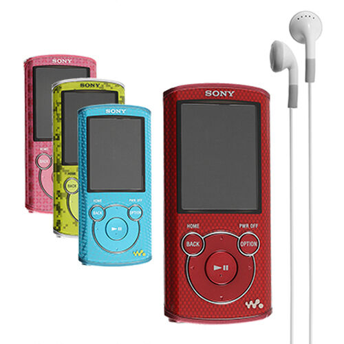 Sony Walkman 4GB Digital MP3 Player NWZ-E463 Music Media Blue, Green, Red, Pink in Consumer Electronics, Gadgets & Other Electronics, Other | eBay