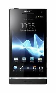 Sony XPERIA S - 32GB - Black (Unlocked) ...