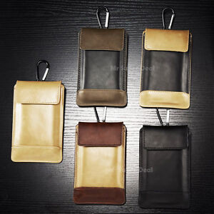 Sony-Xperia-Leder-Synthetisch-Huelle-Tasche-Case-Cover-Back-Skin-Wallet-Case