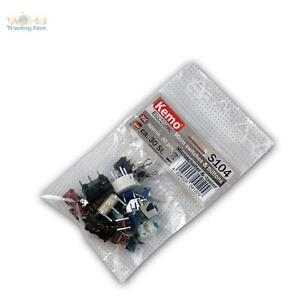 Sortiment-Microschalter-und-Microtaster-ca-30-Stk-Mini-Schalter-Taster