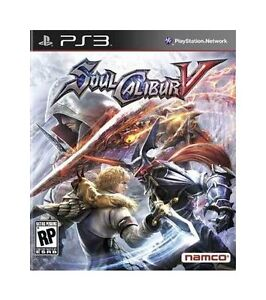 Soul-Calibur-V-Sony-Playstation-3-2012-Brand-New-Still-Sealed-Free-Shipping