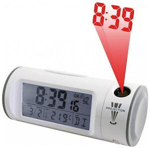 Soundmaster-FUR-8097-Alarm-Funkuhr-Wecker-JUMBO-LCD-Anzeige-Projektion-IR