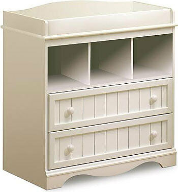 South Shore Changing Table WHITE in Baby, Nursery Furniture, Changing Tables | eBay