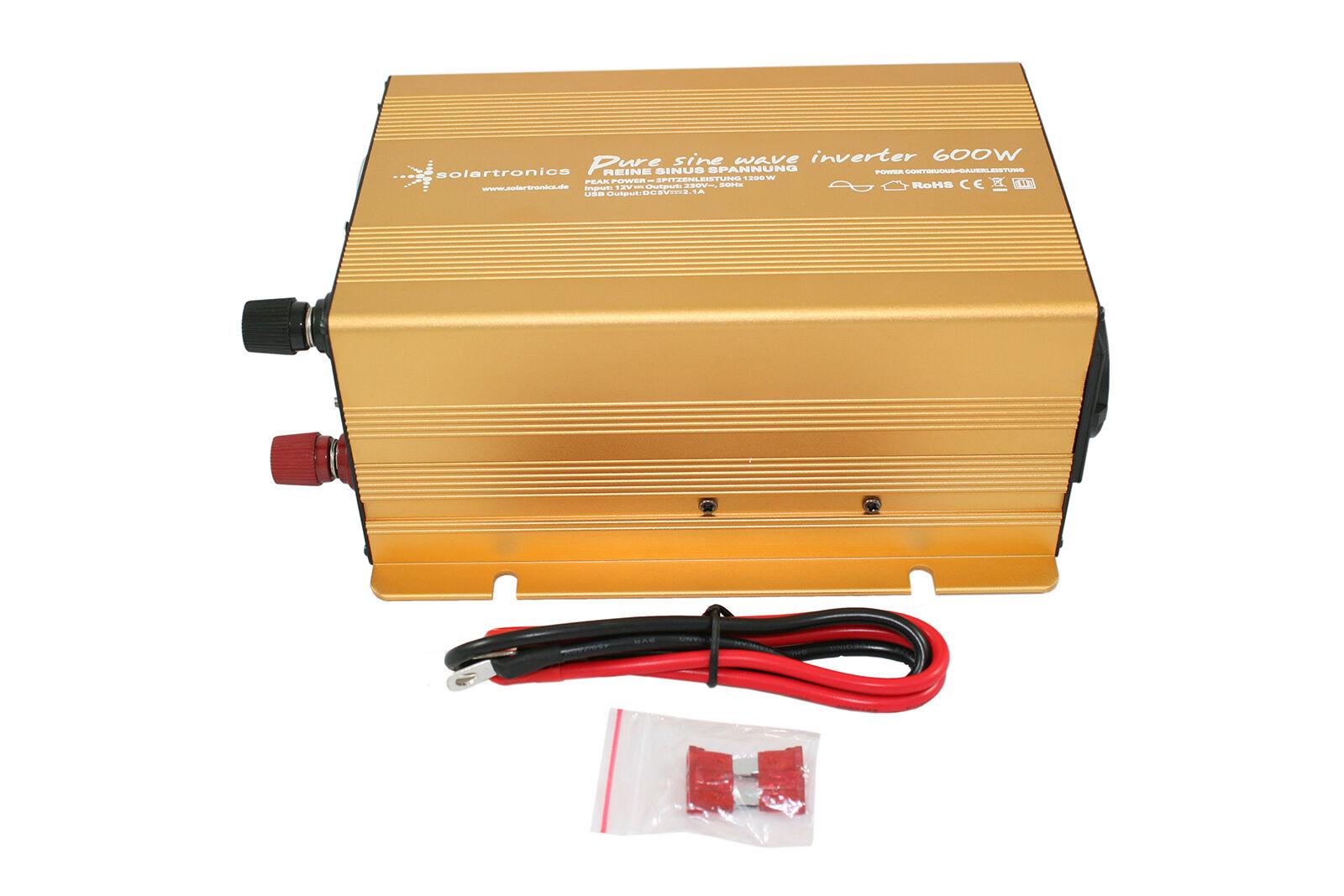 Spannungswandler Auto Kühlschrank : Spannungswandler wechselrichter watt v v reiner