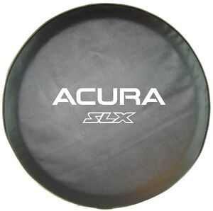 Acura  on Sparecover   Abc Series Acura Slx 35 Mil Tuxedo Black Hd Vinyl Tire