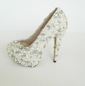sparkly bridal shoes bling heels shoes swarovski crystal wedding shoes