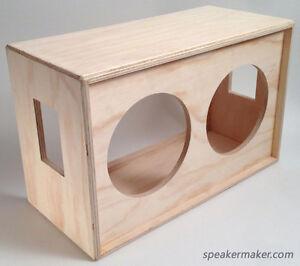 Speaker Maker 2x12 Barebone Guitar Cabinet Cab Kit Diy On Popscreen