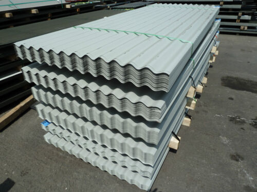Pack of 50 goosewing grey pvc coated metal steel for Fenetre pvc 50 x 60